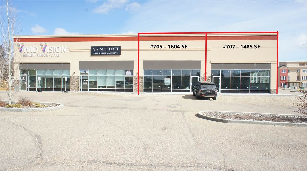 Main Photo: 707 10441 99 Avenue: Fort Saskatchewan Retail for sale or lease : MLS®# E4237276