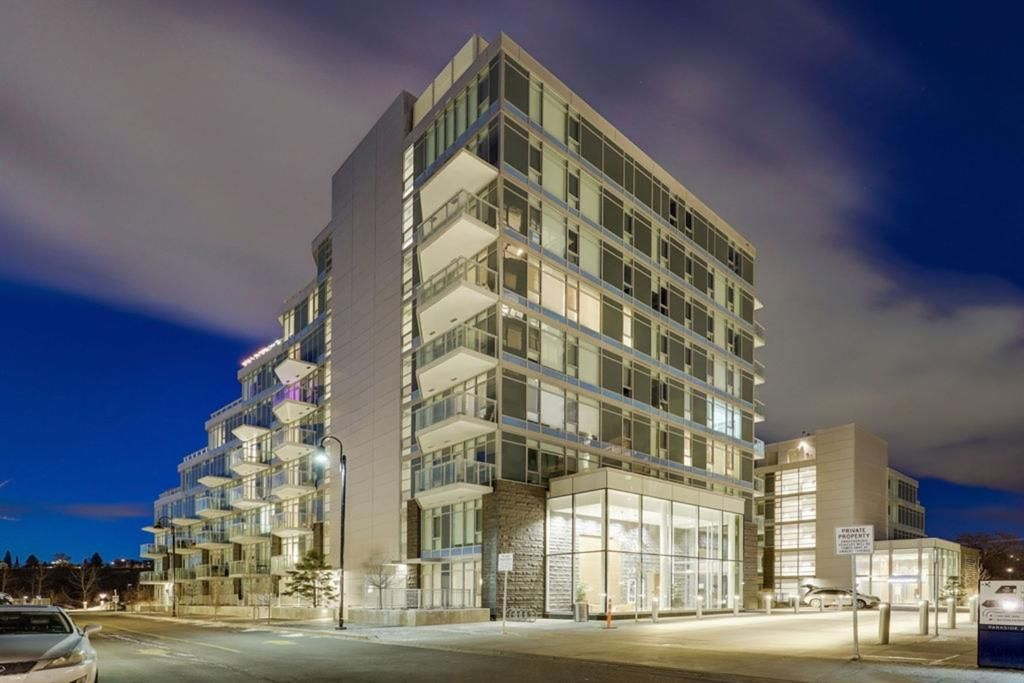 Main Photo: 503 138 Waterfront Court SW in Calgary: Chinatown Apartment for sale : MLS®# A1084870