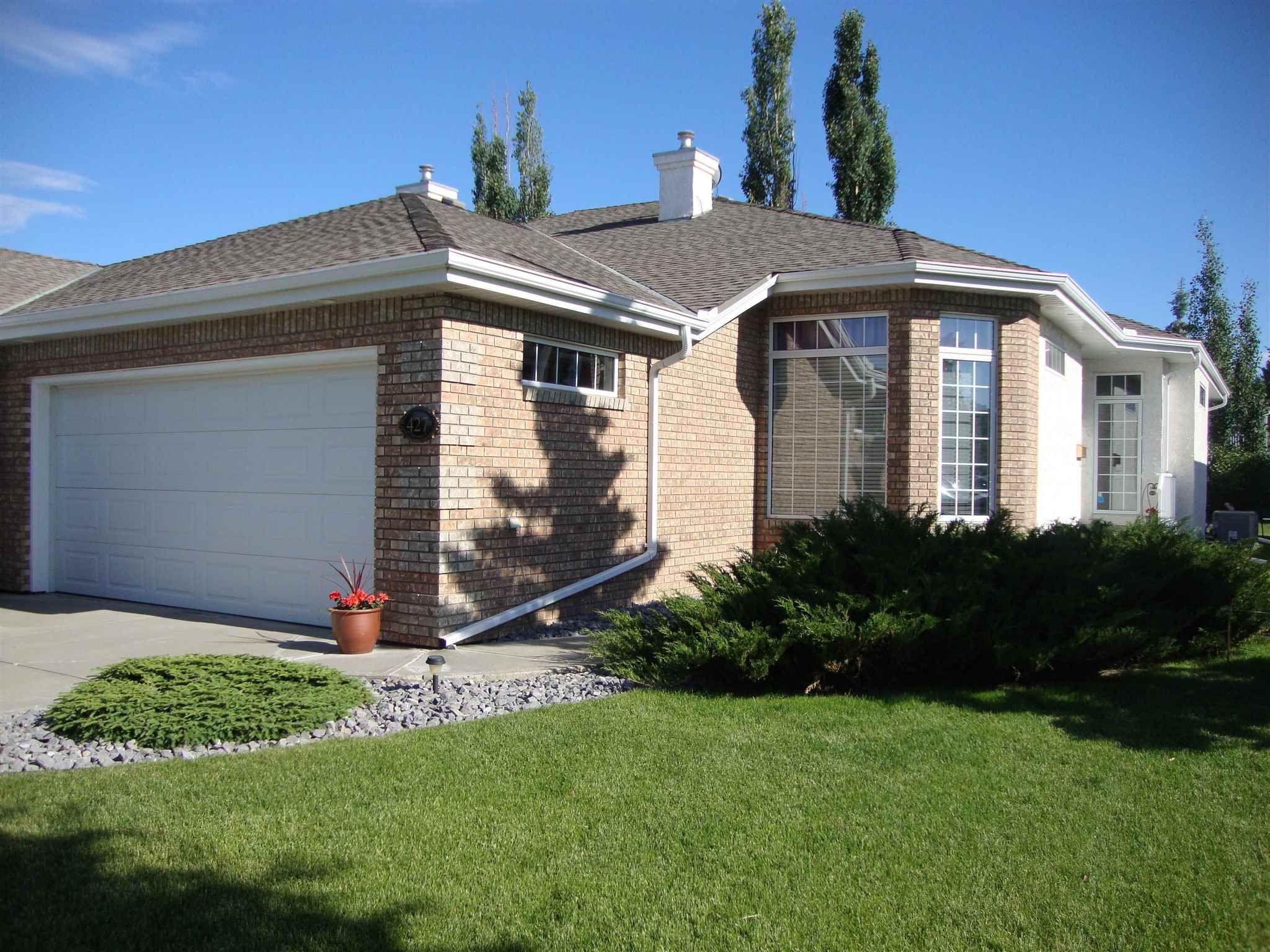 Main Photo: 427 TORY Point in Edmonton: Zone 14 House Half Duplex for sale : MLS®# E4248542