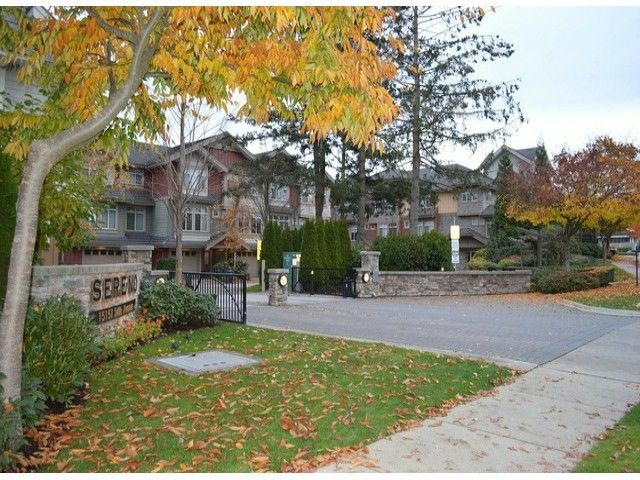 "Main Photo: 58 15151 34TH Avenue in Surrey: Morgan Creek Townhouse for sale in ""SERENO"" (South Surrey White Rock)  : MLS®# F1402501"
