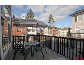 """Photo 10: 64 15075 60TH Avenue in Surrey: Sullivan Station Townhouse for sale in """"NATURE'S WALK"""" : MLS®# F2903783"""
