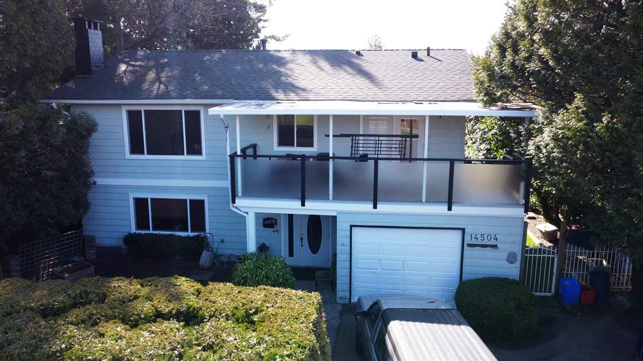 Main Photo: 14504 NORTH BLUFF ROAD: White Rock House for sale (South Surrey White Rock)  : MLS®# R2549785