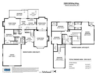 Photo 20: 2404 WILDING Way in North Vancouver: Tempe House for sale : MLS®# R2242706