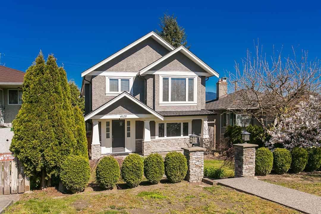 "Main Photo: 4125 ETON Street in Burnaby: Vancouver Heights House for sale in ""VANCOUVER HEIGHTS"" (Burnaby North)  : MLS®# R2053716"