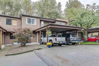 Photo 1: 11 1140 Eagleridge in Coquitlam: Eagle Ridge CQ Townhouse for sale : MLS®# R2408591