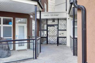 Photo 36: 355 10403 122 Street in Edmonton: Zone 07 Condo for sale : MLS®# E4248211