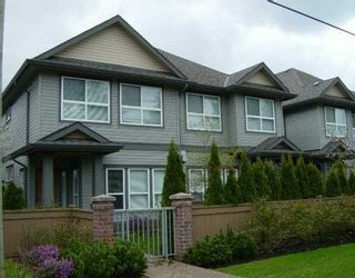 "Photo 1: 6777 LIVINGSTONE Place in Richmond: Granville Townhouse for sale in ""HARVARD VILLAS II"" : MLS®# V616120"