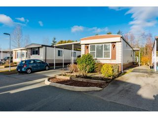 "Photo 2: 161 3665 244 Street in Langley: Otter District Manufactured Home for sale in ""Langley Grove Estates"" : MLS®# R2535477"
