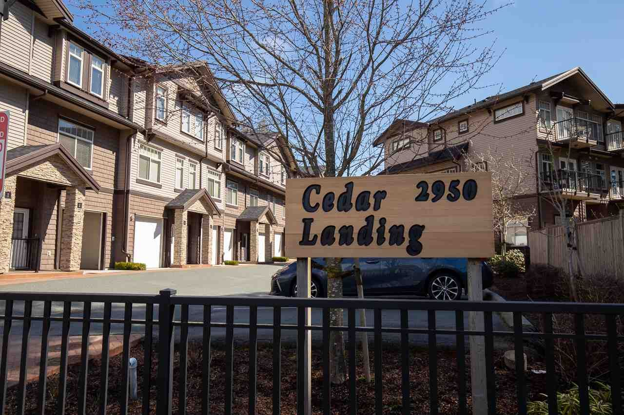 """Main Photo: 7 2950 LEFEUVRE Road in Abbotsford: Aberdeen Townhouse for sale in """"Cedar Landing"""" : MLS®# R2462151"""