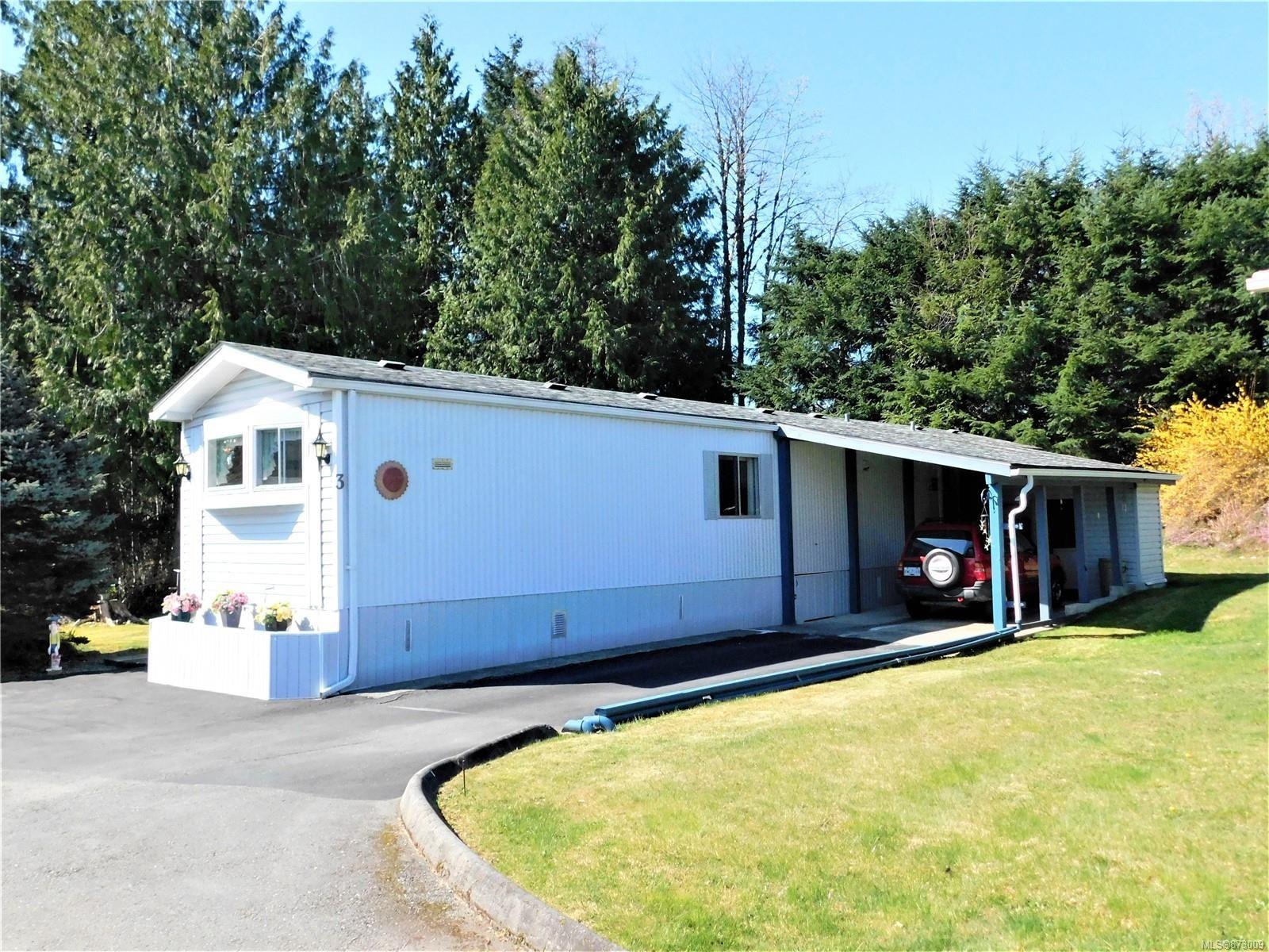Main Photo: 3 4935 BROUGHTON St in Port Alberni: PA Alberni Valley Manufactured Home for sale : MLS®# 873009