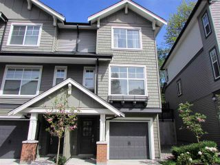"Photo 1: 10 3470 HIGHLAND Drive in Coquitlam: Burke Mountain Townhouse for sale in ""BRIDLEWOOD"" : MLS®# R2164105"