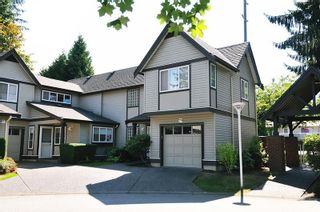 """Photo 1: 1 21801 DEWDNEY TRUNK Road in Maple Ridge: West Central Townhouse for sale in """"SHERWOOD"""" : MLS®# R2612750"""