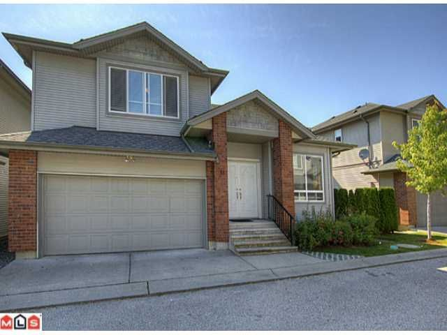 Main Photo: 31 6116 128th Street in Surrey: Panorama Ridge House for sale : MLS®# F1216903