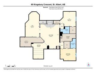Photo 47: 60 KINGSBURY Crescent: St. Albert House for sale : MLS®# E4260792