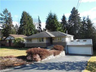 """Photo 1: 1722 APPIN Road in North Vancouver: Westlynn House for sale in """"Westlynn"""" : MLS®# V1049386"""