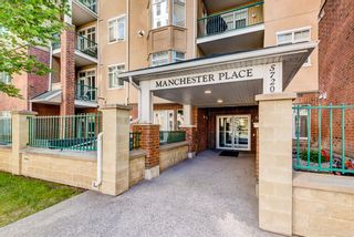 Main Photo: 209 5720 2 Street SW in Calgary: Manchester Apartment for sale : MLS®# A1125614