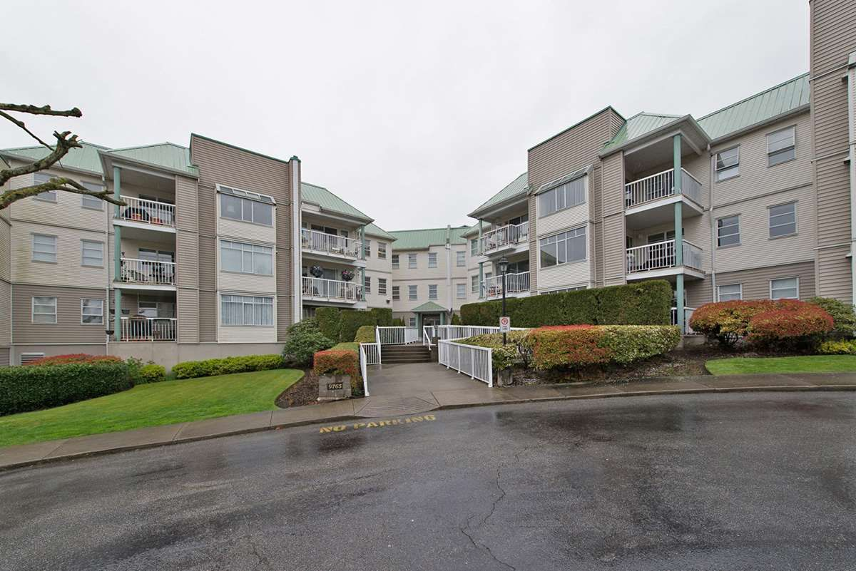 "Main Photo: 313 9765 140TH Street in Surrey: Whalley Condo for sale in ""Fraser Gate"" (North Surrey)  : MLS®# R2091811"