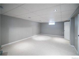 Photo 14: 21 Triton Bay in Winnipeg: St Vital Residential for sale (South East Winnipeg)  : MLS®# 1615029
