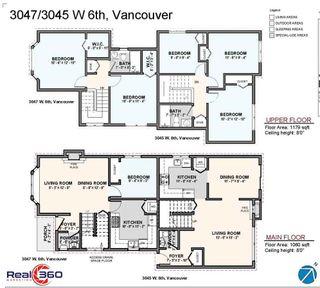Photo 10: 3045 W 6TH Avenue in Vancouver: Kitsilano 1/2 Duplex for sale (Vancouver West)  : MLS®# R2544151