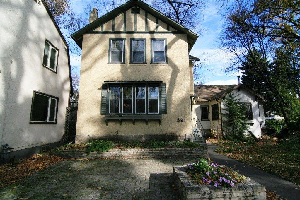 Photo 1: Photos: 891 Palmerston Avenue in Winnipeg: Wolseley Single Family Detached for sale (West Winnipeg)  : MLS®# 1406163