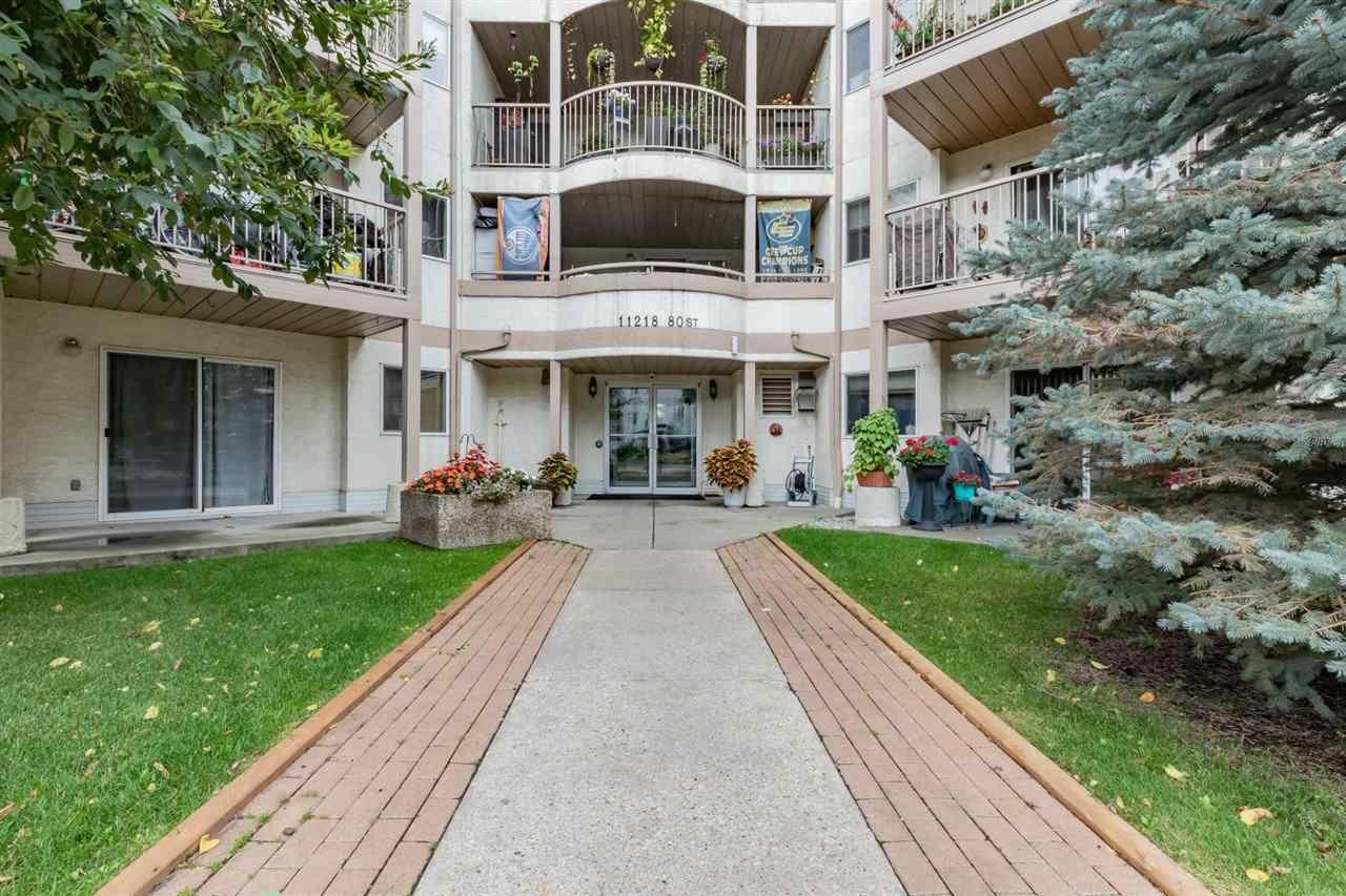 Main Photo: 112 11218 80 Street in Edmonton: Zone 09 Condo for sale : MLS®# E4221094