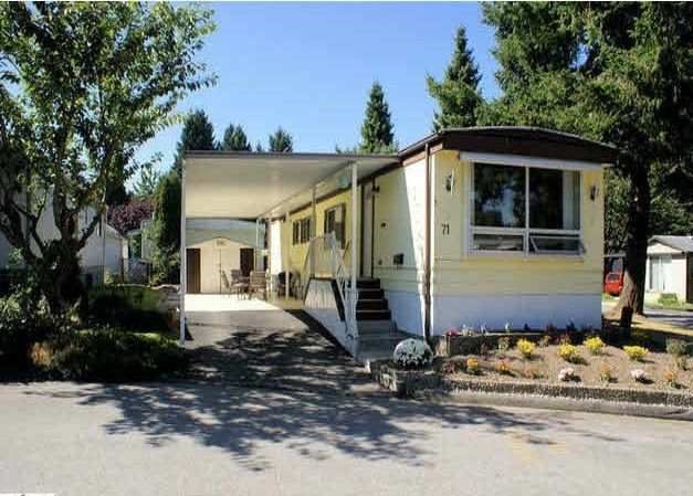 """Main Photo: 71 7790 KING GEORGE Boulevard in Surrey: East Newton Manufactured Home for sale in """"Crispen Bays"""" : MLS®# R2182761"""
