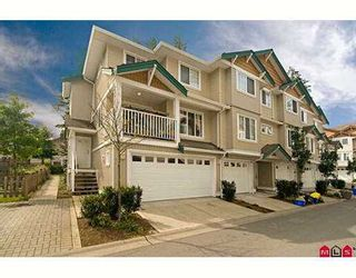 """Photo 1: 34 12711 64TH Avenue in Surrey: West Newton Townhouse for sale in """"PALETTE ON THE PARK"""" : MLS®# F2722983"""