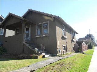 Photo 1: 2306 GRAVELEY ST in Vancouver: Grandview VE House for sale (Vancouver East)  : MLS®# V992637