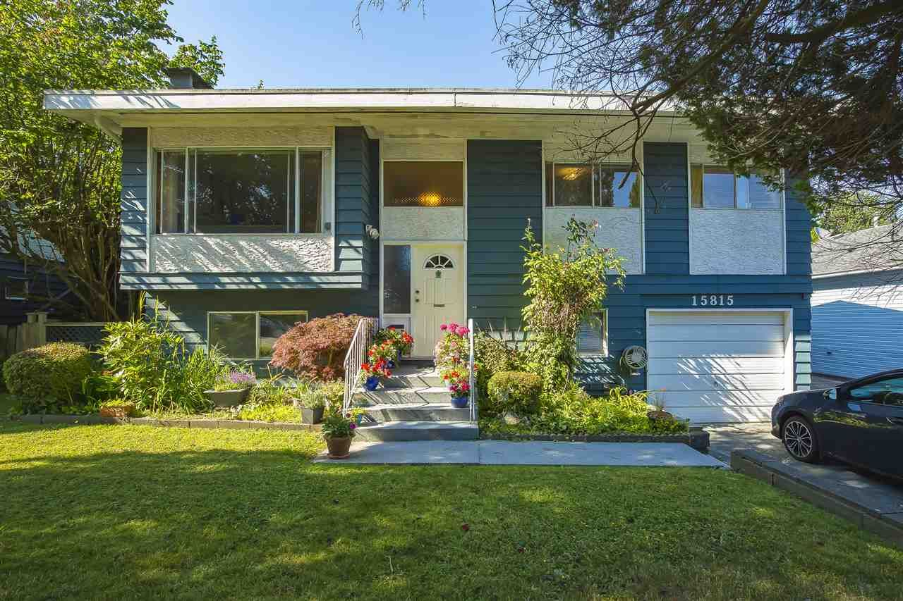 Main Photo: 15815 THRIFT Avenue: White Rock House for sale (South Surrey White Rock)  : MLS®# R2480910