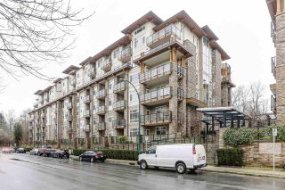 """Photo 1: 511 2495 WILSON Avenue in Port Coquitlam: Central Pt Coquitlam Condo for sale in """"ORCHID RIVERSIDE CONDOS"""" : MLS®# R2473493"""
