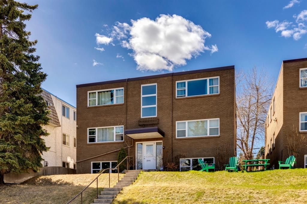Main Photo: 1 2315 17A Street SW in Calgary: Bankview Apartment for sale : MLS®# A1142599