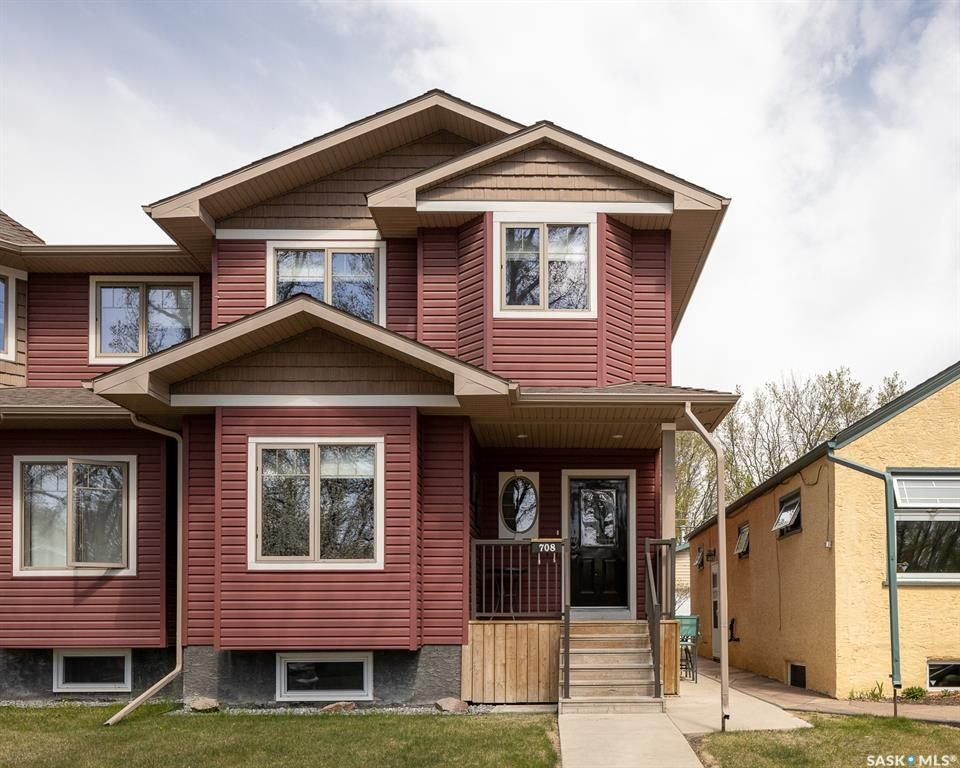 Main Photo: 708 31st Street West in Saskatoon: Caswell Hill Residential for sale : MLS®# SK855274