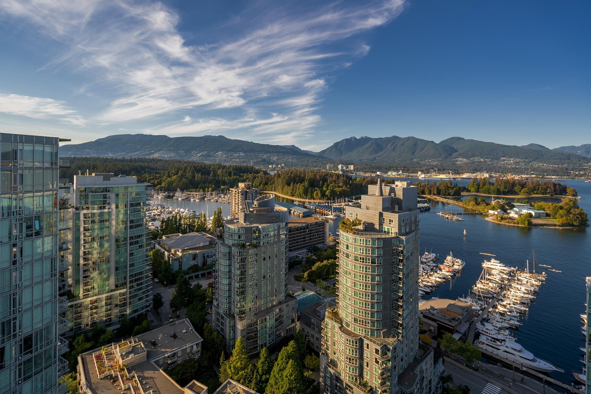 """Main Photo: 2701 1499 W PENDER Street in Vancouver: Coal Harbour Condo for sale in """"WEST PENDER PLACE"""" (Vancouver West)  : MLS®# R2614802"""