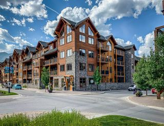 Photo 1: 207 707 Spring Creek Drive: Canmore Apartment for sale : MLS®# A1091740
