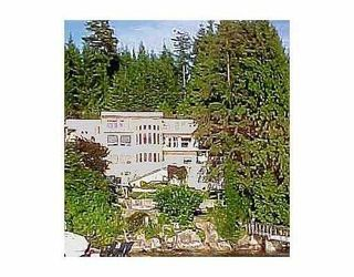 Photo 1: 4675 BELCARRA BAY RD: Belcarra House for sale (Port Moody)  : MLS®# V537603