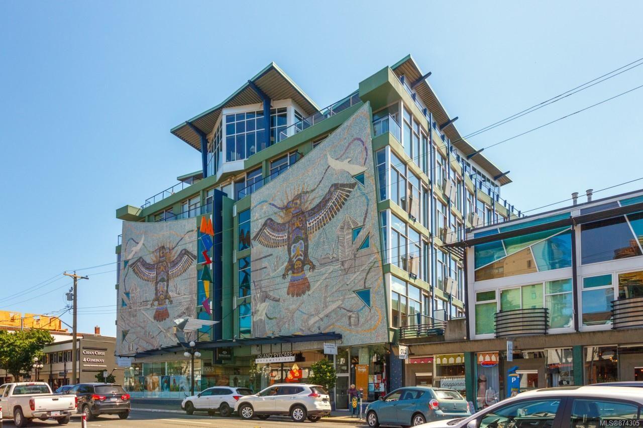 Main Photo: 203 1061 Fort St in : Vi Downtown Condo for sale (Victoria)  : MLS®# 874305