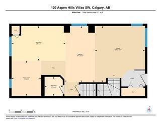 Photo 31: 120 ASPEN HILLS Villa SW in Calgary: Aspen Woods Row/Townhouse for sale : MLS®# C4242646