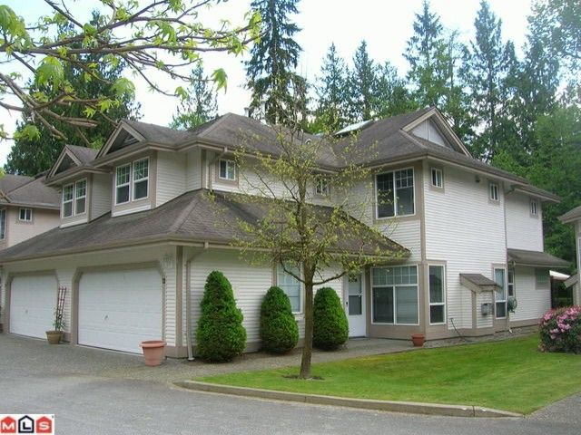 """Main Photo: 22 9025 216TH Street in Langley: Walnut Grove Townhouse for sale in """"COVENTRY WOODS"""" : MLS®# F1012745"""