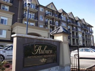 """Photo 1: 417 8531 YOUNG Road in Chilliwack: Chilliwack W Young-Well Condo for sale in """"AUBURN RETIREMENT RESIDENCES"""" : MLS®# R2603697"""