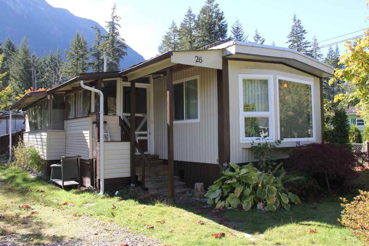 Main Photo: 26 65367 KAWKAWA LAKE Road in Hope: Hope Kawkawa Lake House for sale : MLS®# R2114506