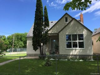 Photo 1: 665 Bannerman Avenue in WINNIPEG: North End Residential for sale (North West Winnipeg)  : MLS®# 1517478