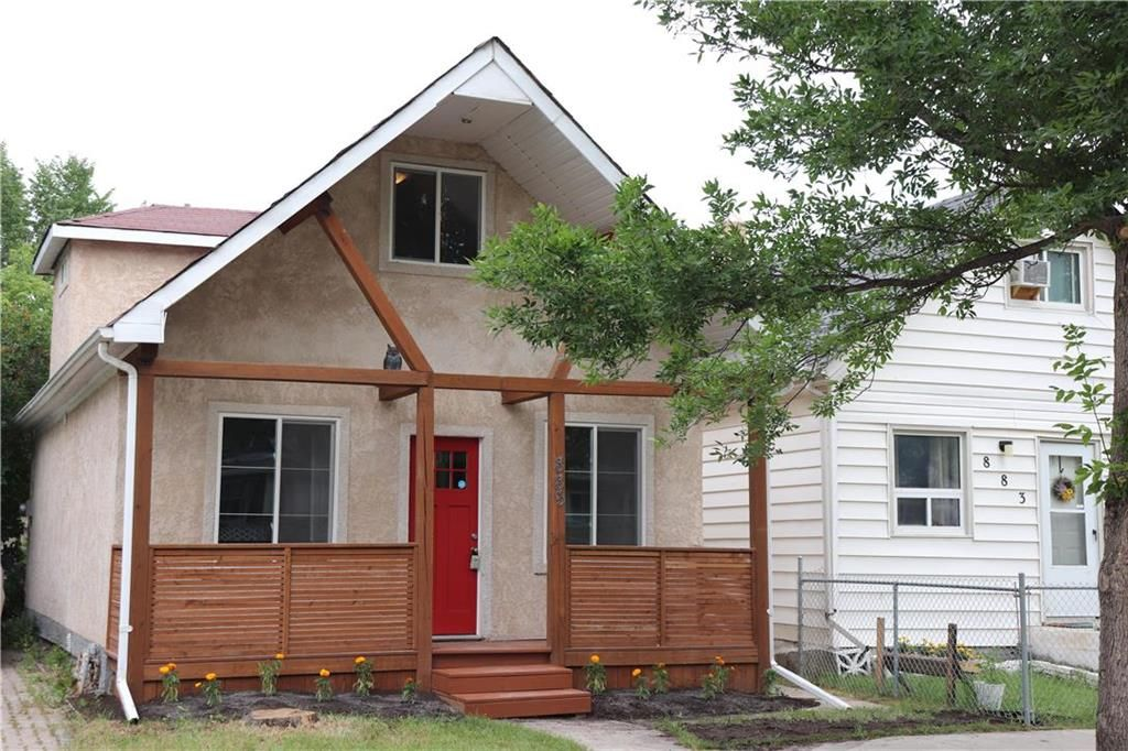 Main Photo: 885 College Avenue in Winnipeg: North End Residential for sale (4B)  : MLS®# 202116878