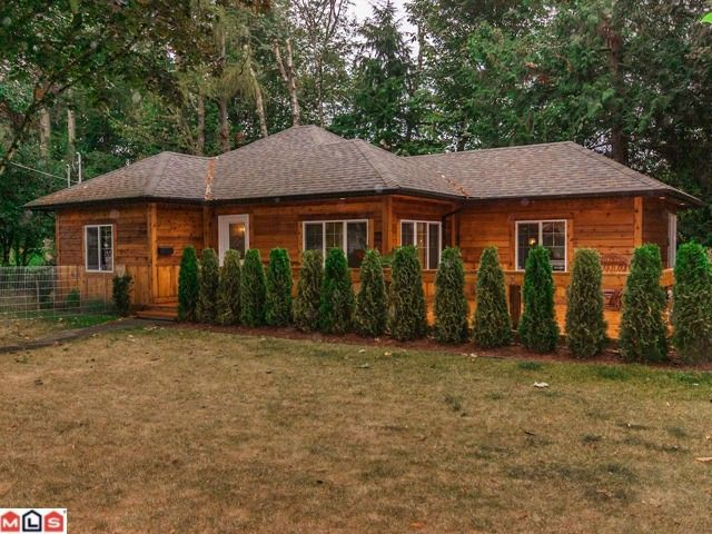 Main Photo: 2316 MCKENZIE Road in Abbotsford: Central Abbotsford House for sale : MLS®# F1405121
