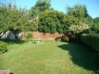 """Photo 8: 7462 GIBBARD ST in Mission: Mission BC House for sale in """"HERITAGE PARK AREA"""" : MLS®# F1124758"""