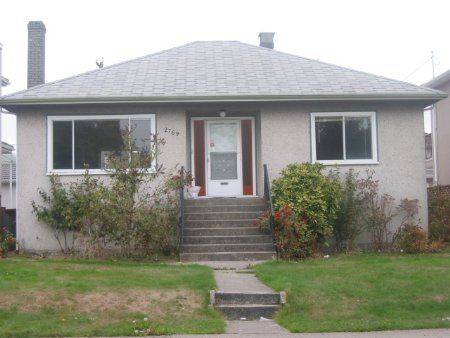 Main Photo: 2769 East 3rd Avenue in Vancouver: House for sale (Renfrew VE)  : MLS®# 365548