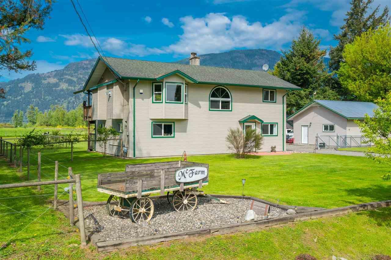 Main Photo: 5063 BOUNDARY Road in Abbotsford: Sumas Prairie House for sale : MLS®# R2392598