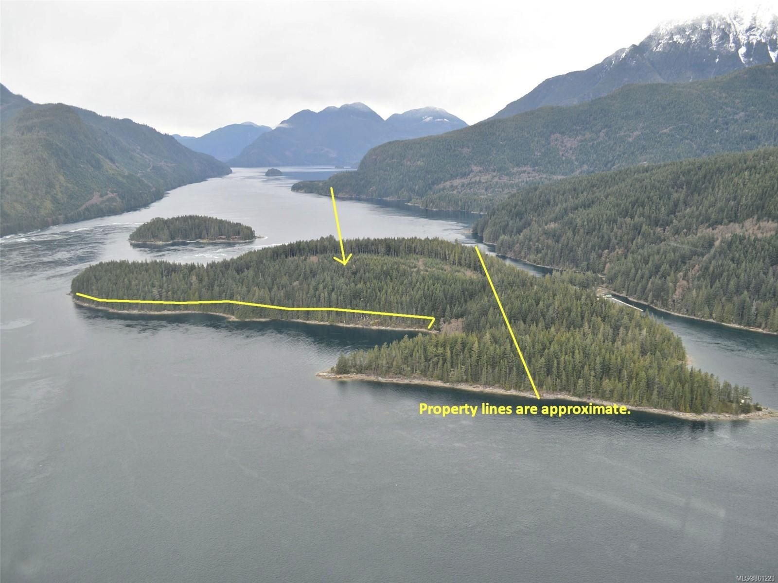 Main Photo: DL 1445 Dent Island in : Isl Small Islands (Campbell River Area) Land for sale (Islands)  : MLS®# 861220