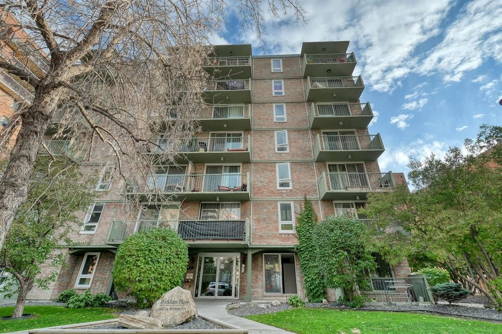 Main Photo: 201 1015 14 Avenue SW in Calgary: Beltline Apartment for sale : MLS®# A1074004