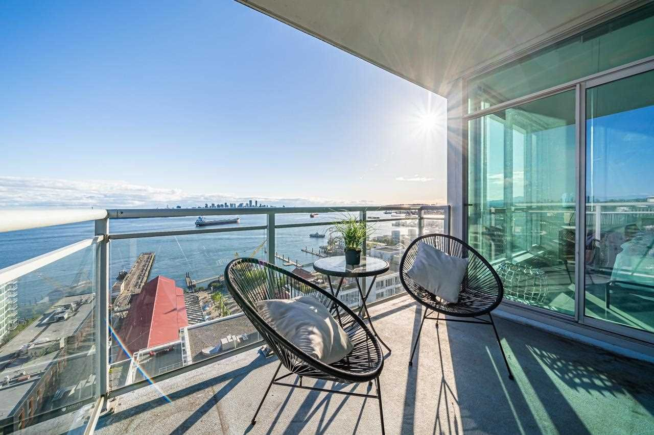 "Main Photo: 1902 138 E ESPLANADE Street in North Vancouver: Lower Lonsdale Condo for sale in ""The Premiere at The Pier"" : MLS®# R2576004"