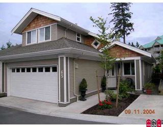 """Photo 1: 65 15133 29A Avenue in White_Rock: King George Corridor Townhouse for sale in """"Stonewoods"""" (South Surrey White Rock)  : MLS®# F2727752"""